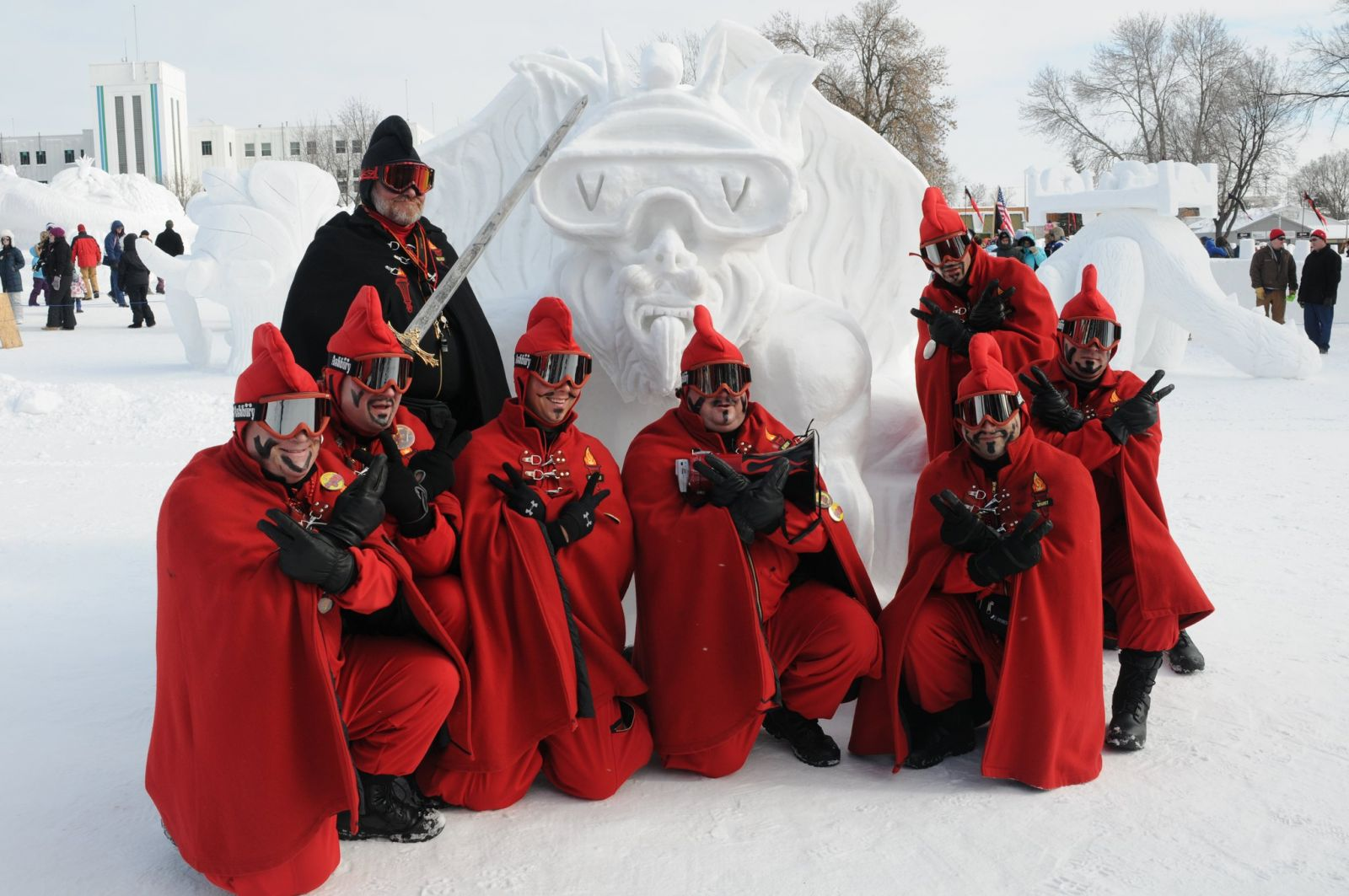 Vulcans Of The St. Paul Winter Carnival Are Joining Us!