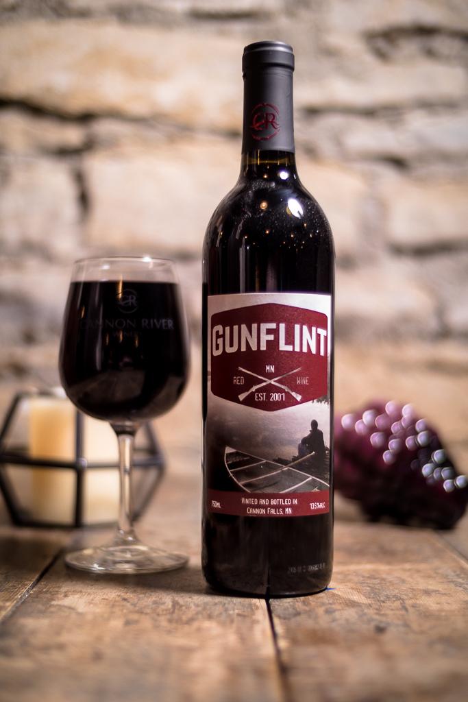 Gunflint Red Wine