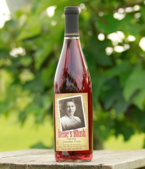 Irene's Blush Wine by Cannon River Winery