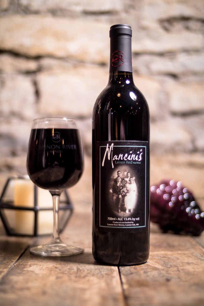 Mancini's Levee Red Wine