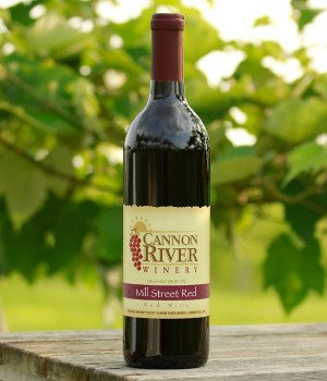 Mill Street Red Wine by Cannon River Winery