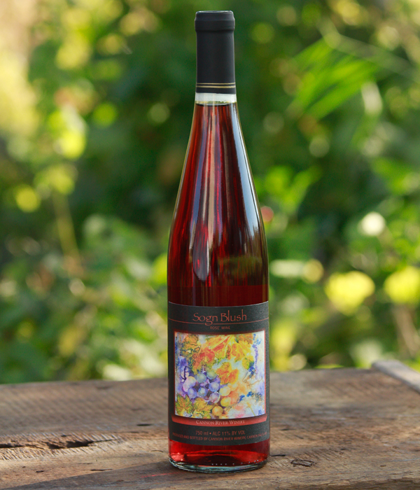 Sogn Blush Wine by Cannon River Winery