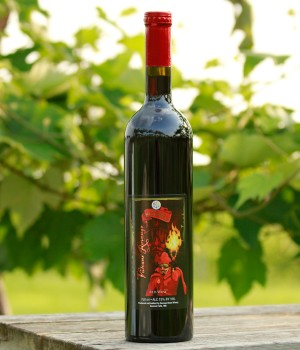 Vulcans' Revenge Wine by Cannon River Winery