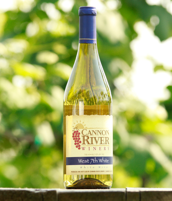 West 7th White Wine by Cannon River Winery