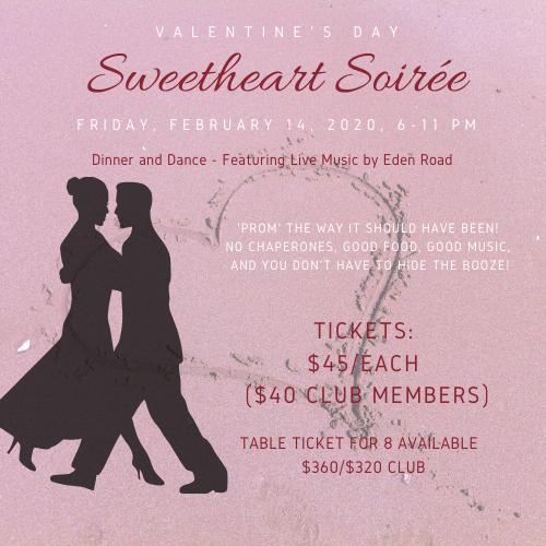 Sweetheart Soiree Ticket